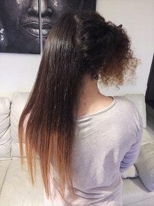 Fer à lisser pour cheveux bouclés