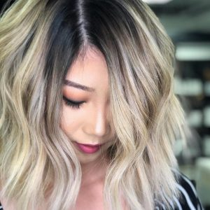 Shadow root sur cheveux courts