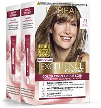 Blond foncé l'oréal excellence