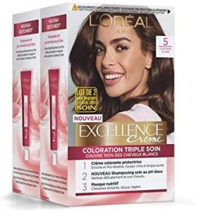 Excellence L'oréal chatain clair