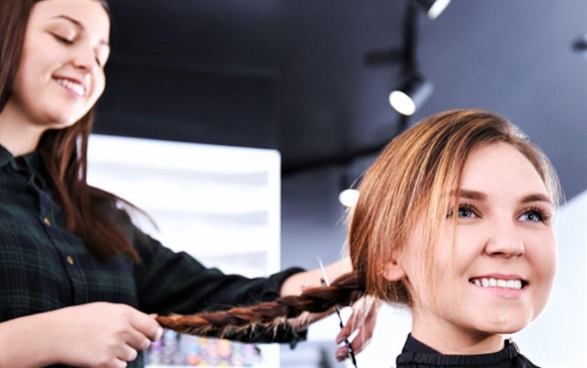 Coiffeur don de cheveux