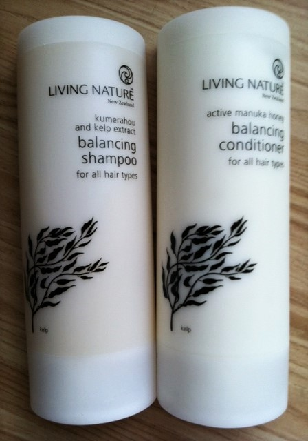 living nature shampooing