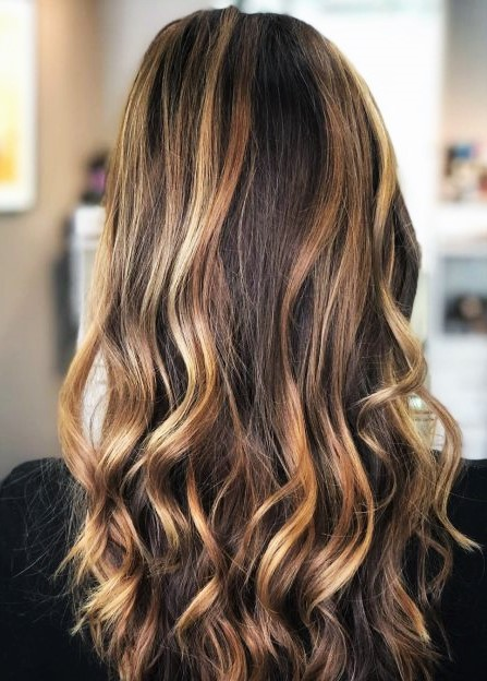 couleur cheveux miel