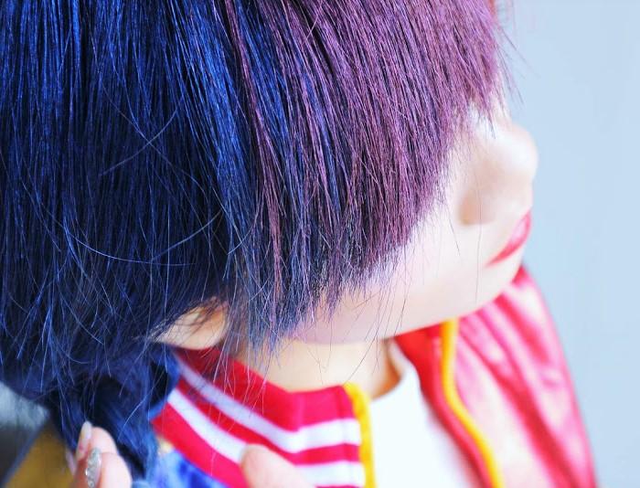 cire colorante pour cheveux
