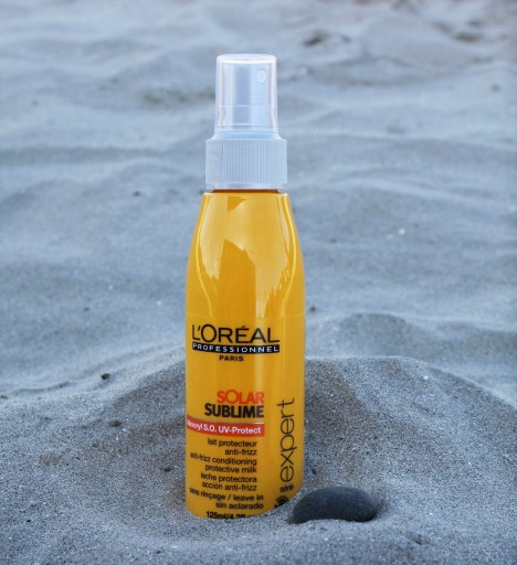 huile protectrice cheveux soleil