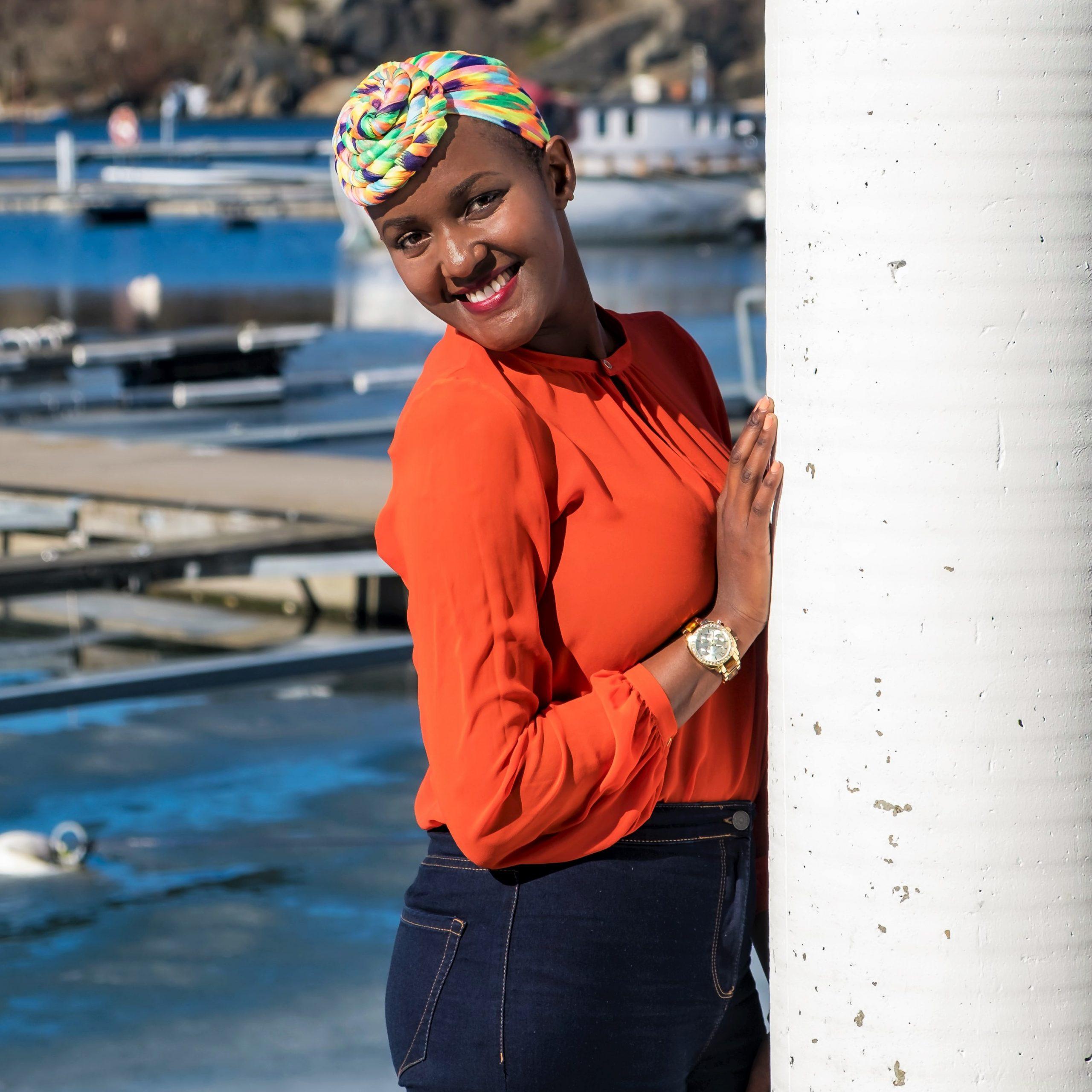 turban femme chimio
