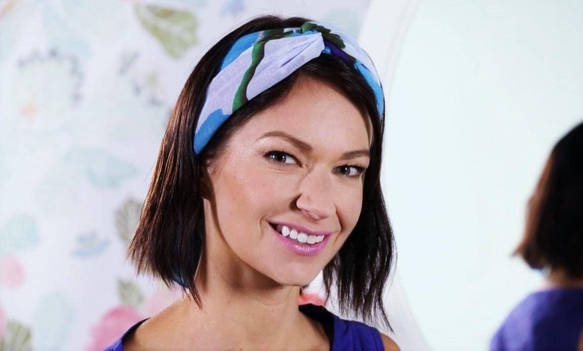 coiffure avec un headband