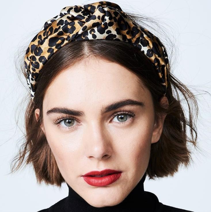 headband cheveux carré