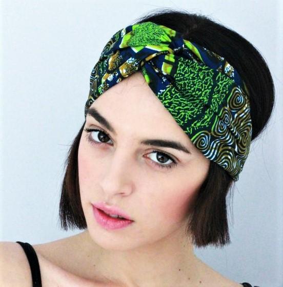 headband cheveux courts