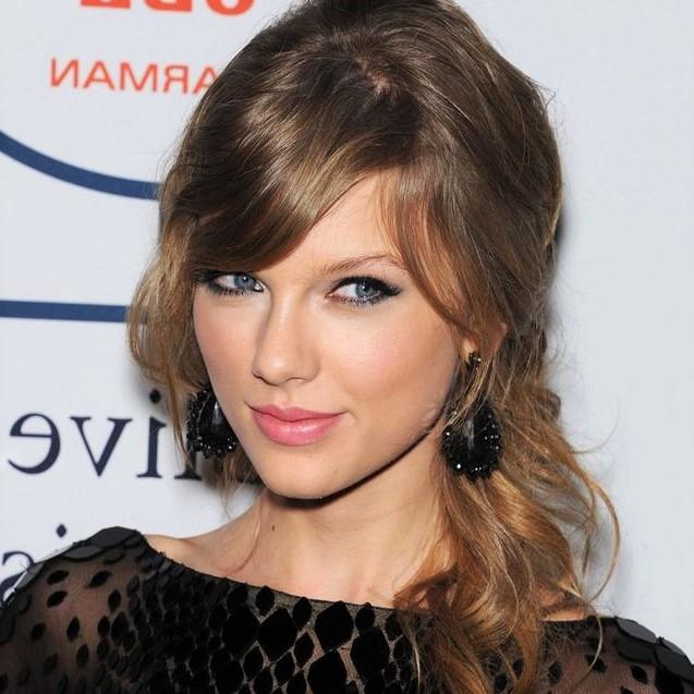 balayage caramel Taylor Swift