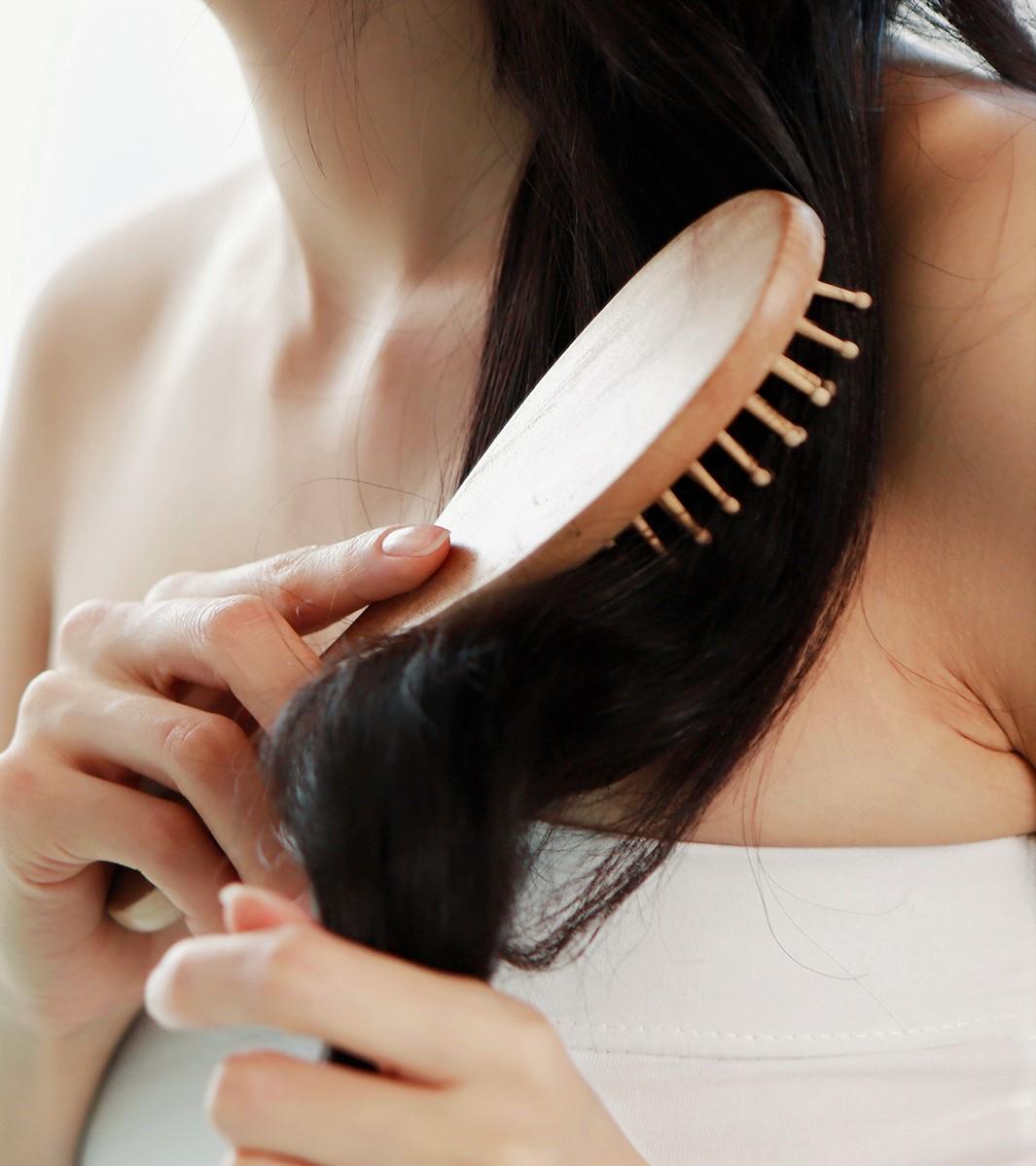 cheveux sec et terne